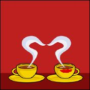 COFFEE IN LOVE - A flip-book and its greetings card (Germany - 2007) - image 3