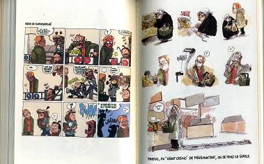 2 pages from the book of BOULET