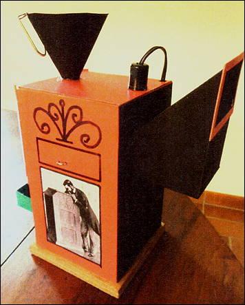 Un Kinetoscope en carton