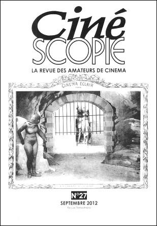Cinescopie No27 - Couverture