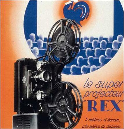 Le projecteur 9mm5 REX