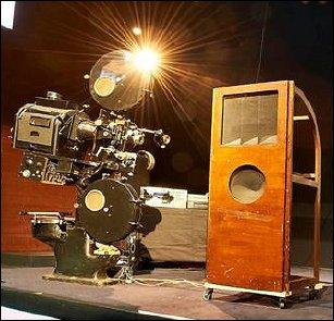 Un projecteur cinéma 35mm