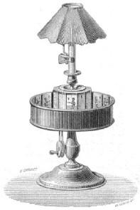 Le Praxinoscope et la bande N°12 : Le Jeu du Volan (série 2)
