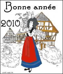 VOEUX 2010 de Jacques DHELLIEZ (France)
