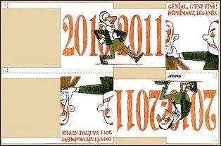 Voeux de l'année 2011 par Etienne LECROART (France)