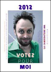 Voeux de l'année 2012 par Benoît BODHUIN (France)