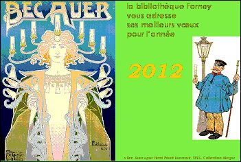 VOEUX 2012 de Sylvie PITOISET (France)