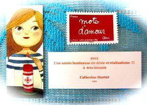 Voeux de l'année 2011 par Catherine HURTUT (France)