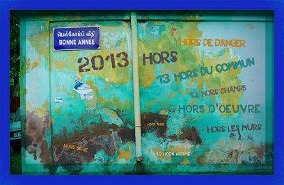 Voeux de l'année 2013 par les COLORANT 14 (France)