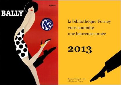 Voeux de l'année 2013 par Sylvie PITOISET (France)