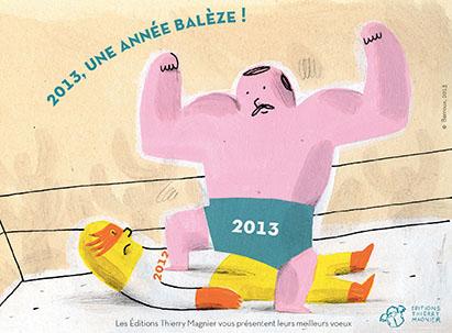 VOEUX 2013 de Thierry MAGNIER (France)