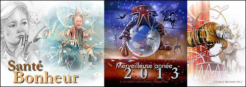 VOEUX 2013 de Thierry MORDANT (France)