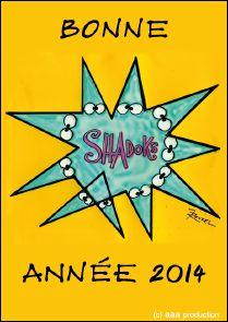 Voeux de l'année 2014 par AAA productions (France)