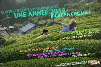 Voeux de l'année 2014 par Contrechamps (France)